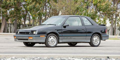 Land vehicle, Vehicle, Car, Coupé, Sedan, Compact car, Hardtop, Dodge,