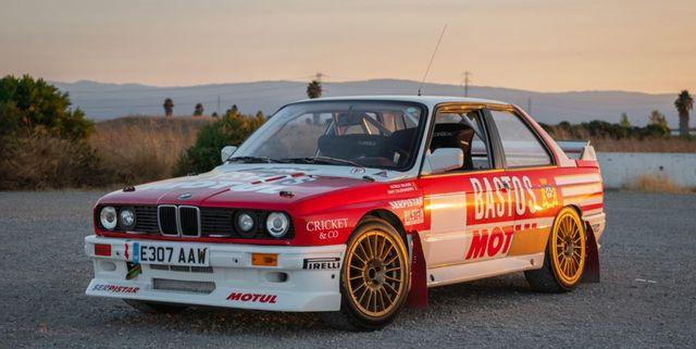 e30 m3 rally car