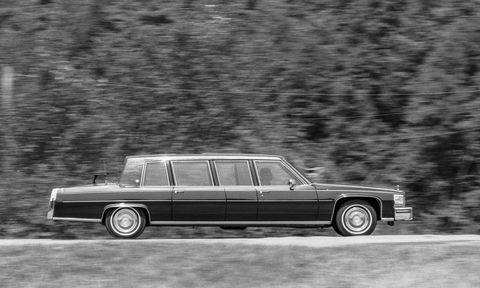 president reagan's cadillac limousine