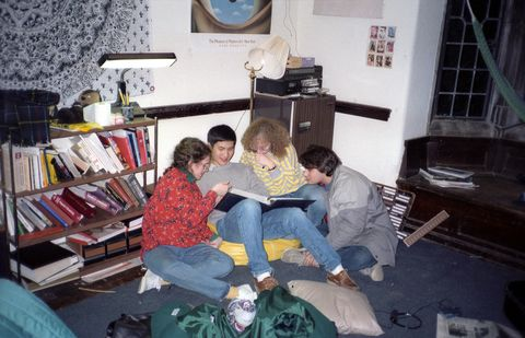 780f22f5369 What Dorm Rooms Looked Like the Year You Were Born - Dorm Room Decor ...