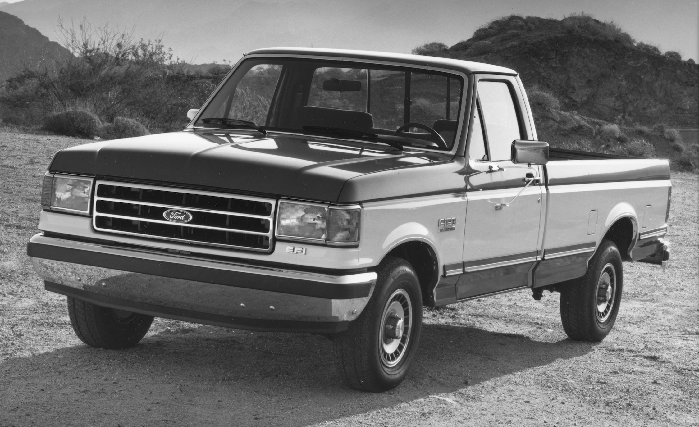 Fords F Series Pickup Truck Its History From The Model