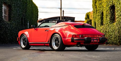 View Photos of 41-Mile 1989 Porsche 911 Speedster