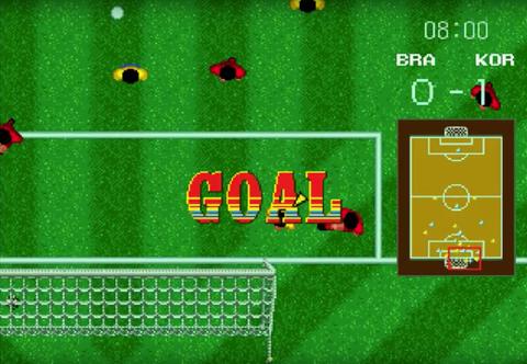 los mejores juegos de fútbol - Italia 90