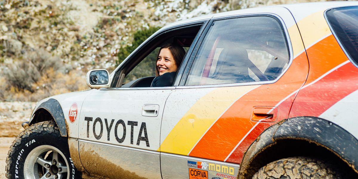 Meet Natasha Adams and Her Lifted 1990 Lexus LS400