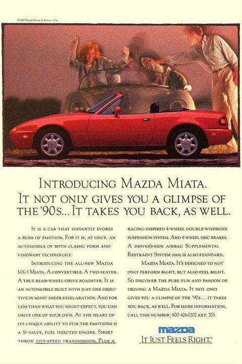 1990: Mazda Miata