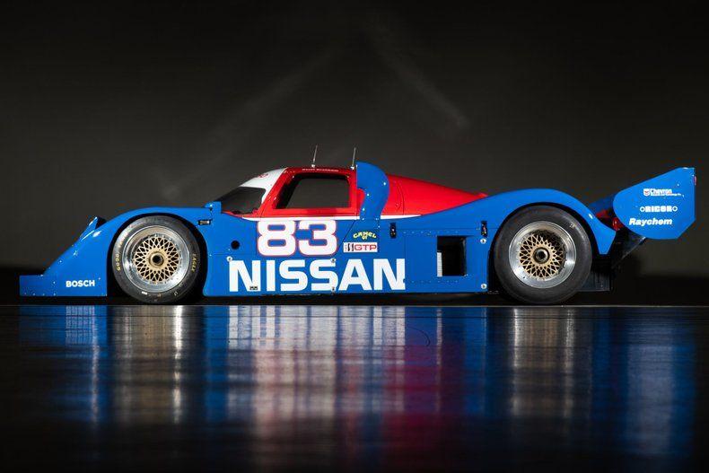 This Rad Nineties Nissan IMSA GTP Race Car Is Up for Sale