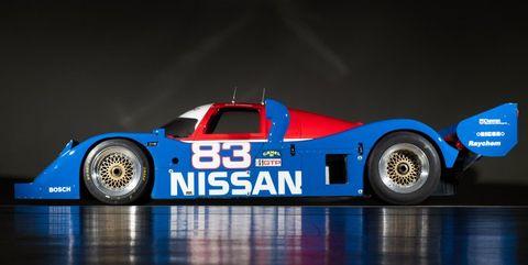 Land vehicle, Vehicle, Race car, Car, Sports car, Supercar, Group C, Sports prototype, Nissan r89c, Nissan,