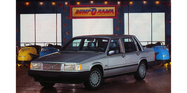 1990 volvo 740 sedan magazine ad