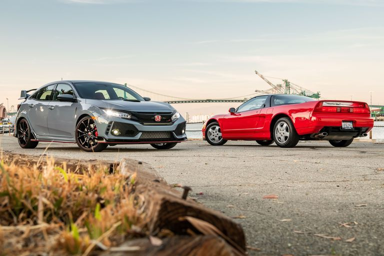 2019 Honda Civic Type R vs  1991 Acura NSX: A Supercar