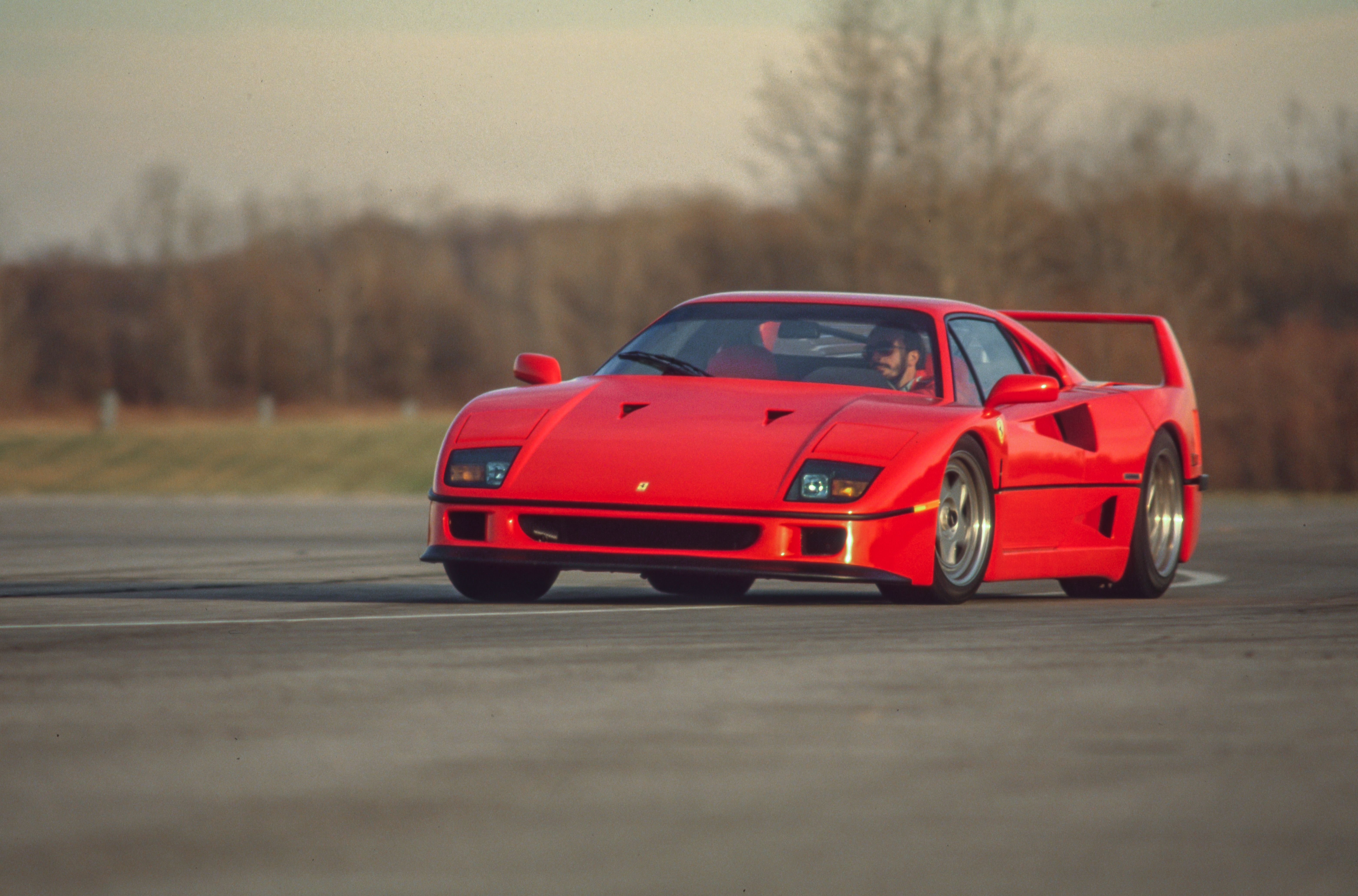 Tested 1991 Ferrari F40 Feasts On The Timid