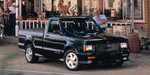 The 1991 GMC Syclone Was Perfectly Impractical