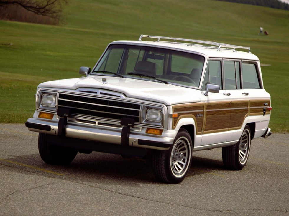 Jeep Grand Wagoneer Production