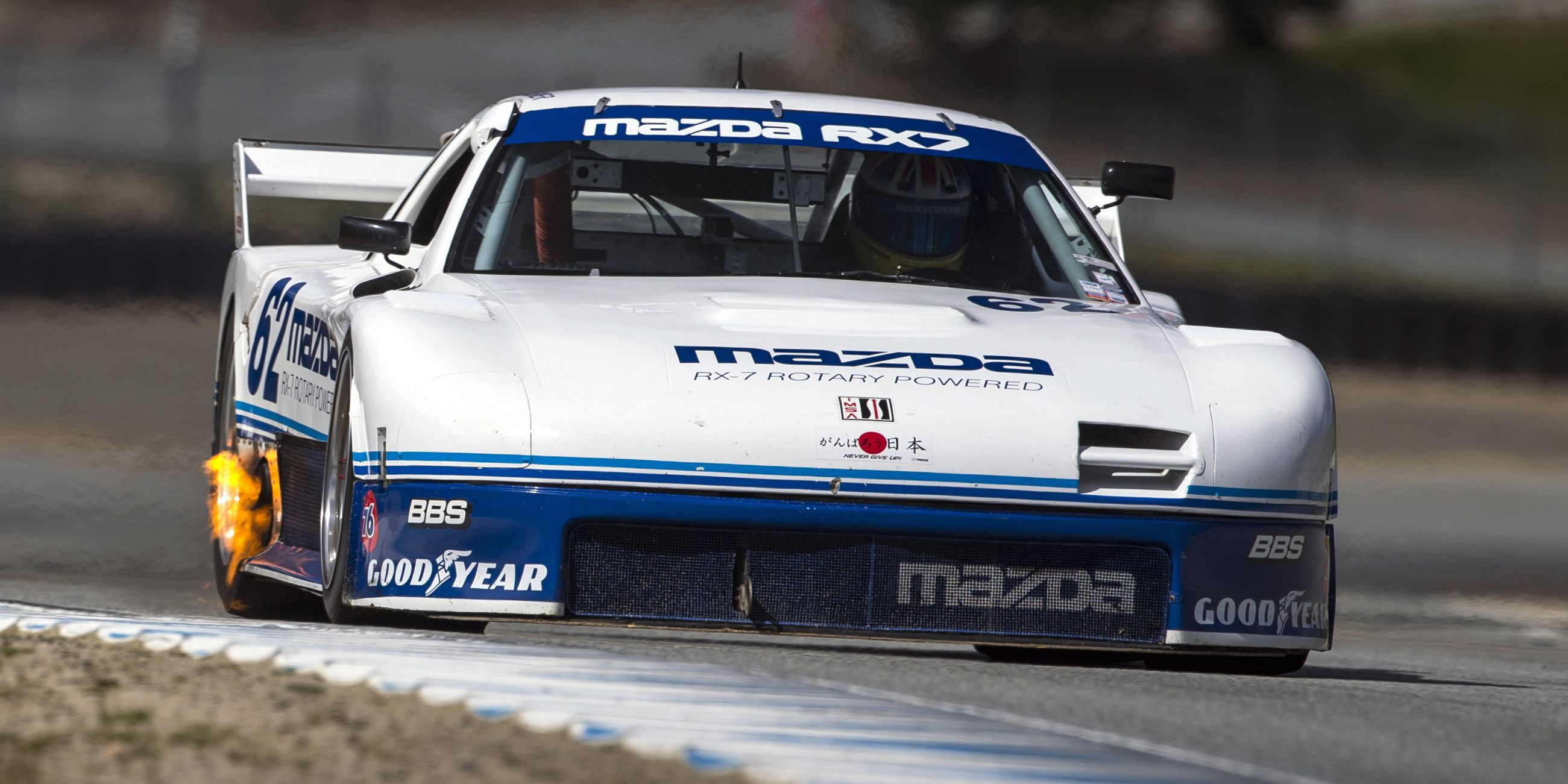 Mazda Is Bringing Seven Rotary-Powered Race Cars to Monterey Historics