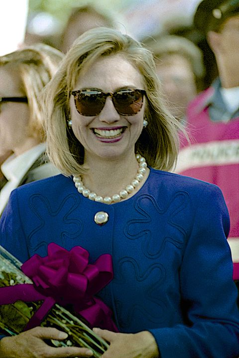 Hillary Clinton's sunglasses from the 1990s