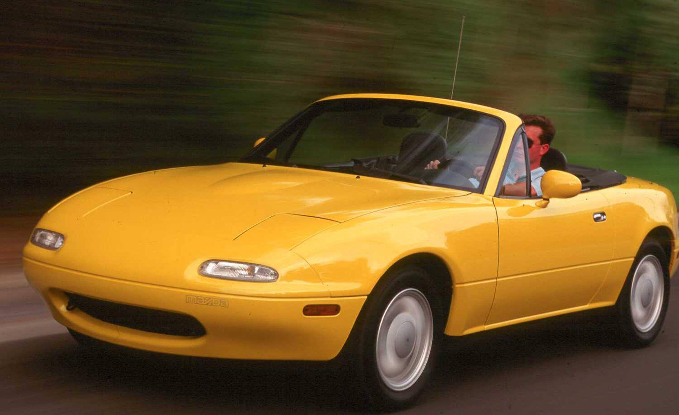 Mazda Mx 5 Miata History From 1989 To Today