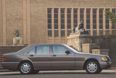 1992 mercedes benz 600sel