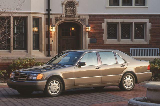 22+ 1992 Mercedes