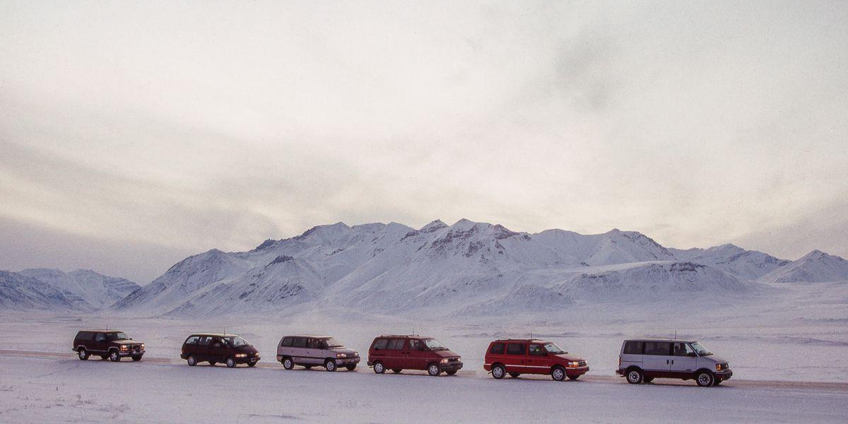 Tested: Five 1992 4WD Minivans vs. Alaska's Dalton Highway