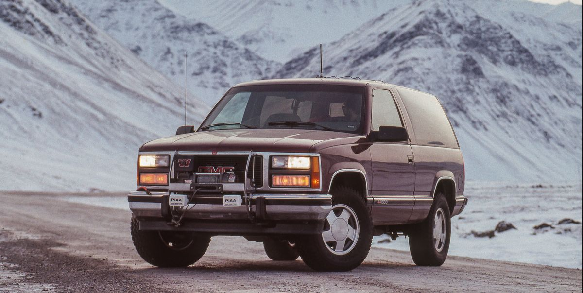 1992 GMC Yukon Plays Support Vehicle on Alaska's Dalton Highway