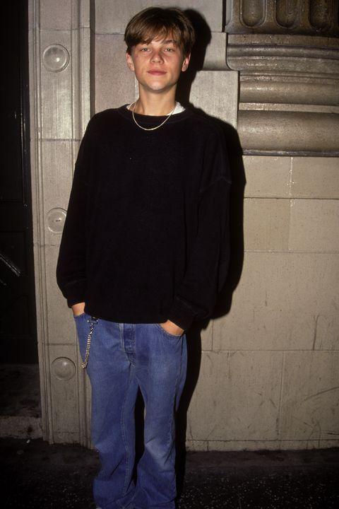 Leonardo Di Caprio Sighting in New York City 1993
