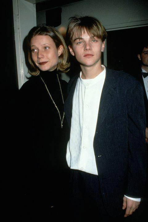 Gwyneth Paltrow and Leonardo DiCaprio