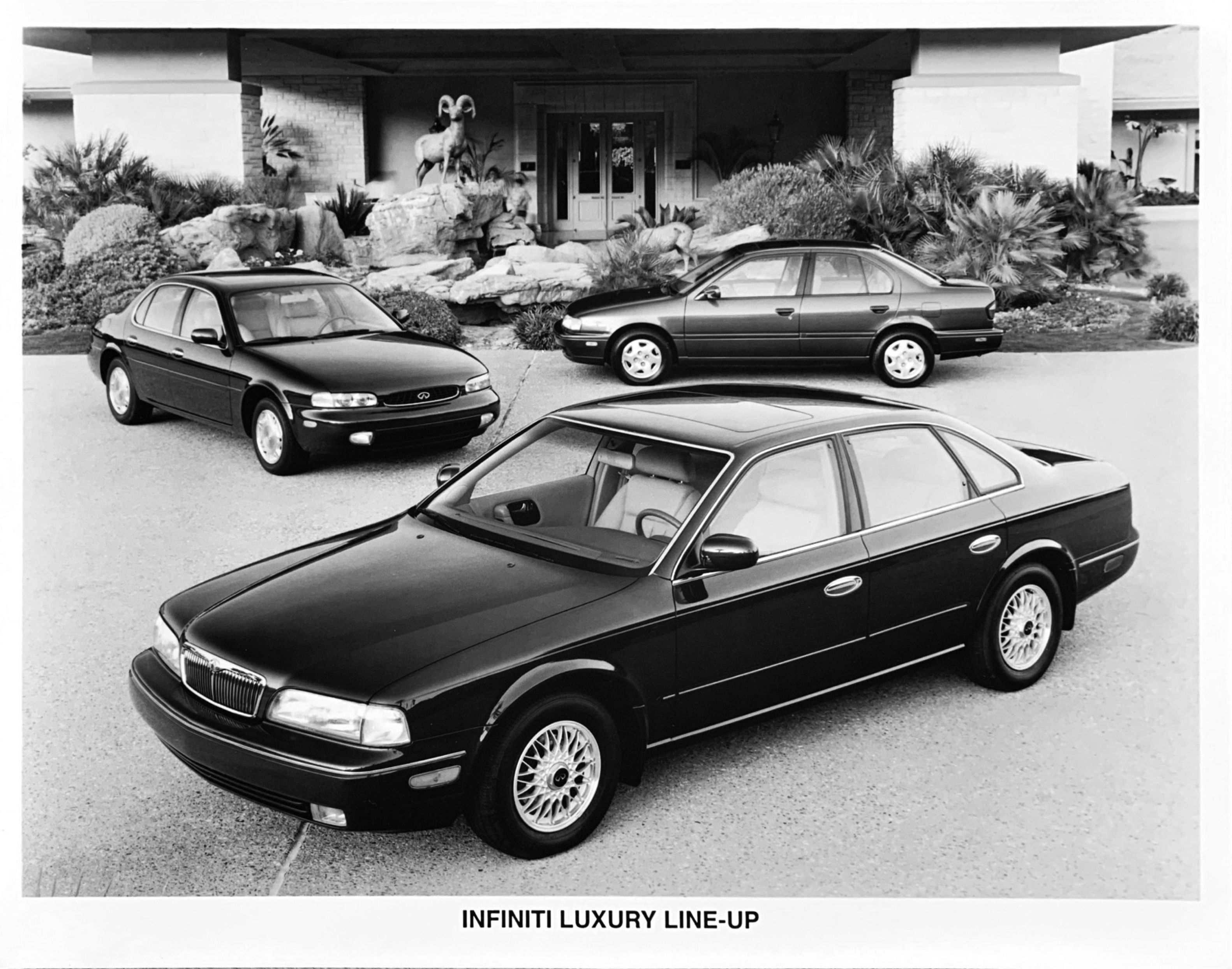 A Look Back at Infiniti's First 30 Years