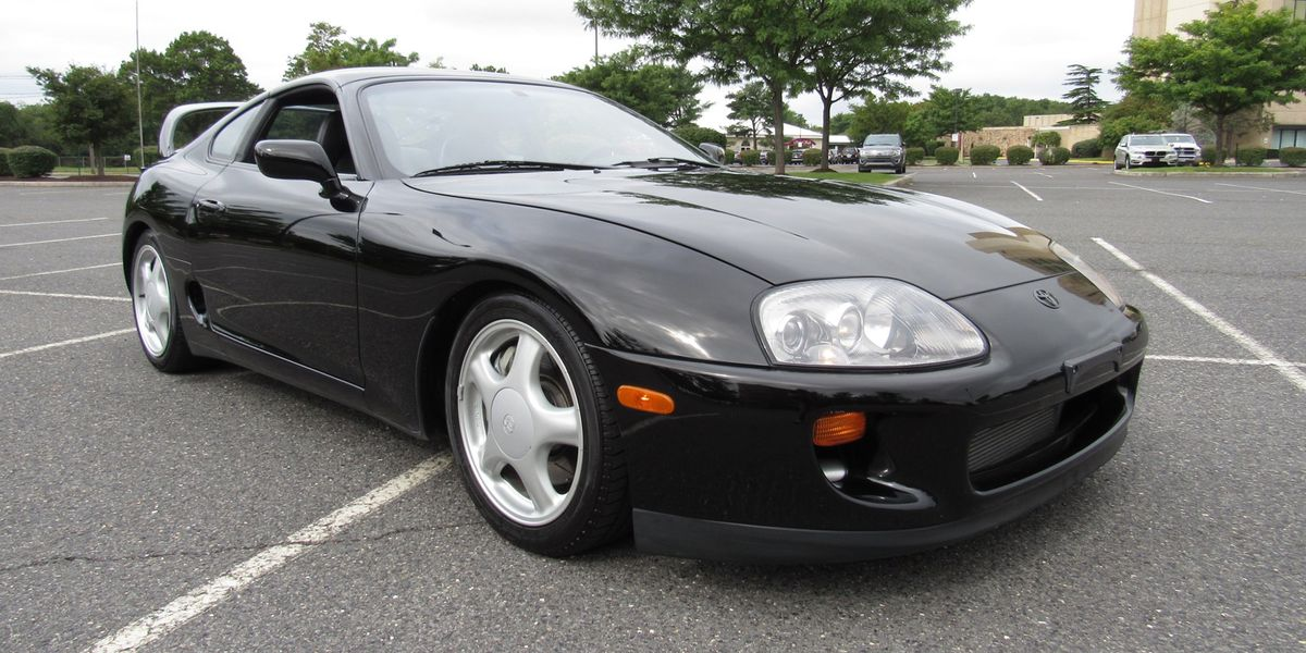 This Low-Mile Manual Toyota Supra Turbo Just Sold for $70,500