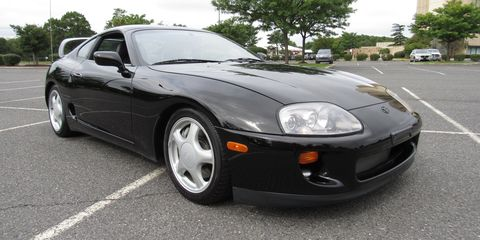 f69711ba3416 This Low-Mile Manual Toyota Supra Turbo Just Sold for  70