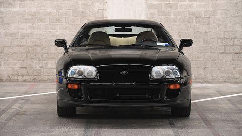 Land vehicle, Vehicle, Car, Sports car, Performance car, Toyota supra, Sedan, Toyota, Coupé,