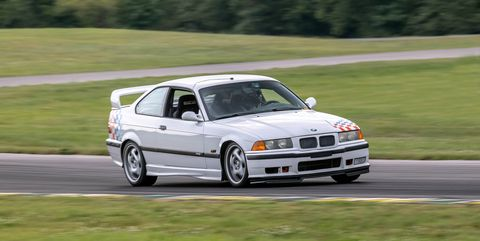 Michelin Brought an E36 M3 to Lightning Lap to Show How Temperatures Affect Lap Times