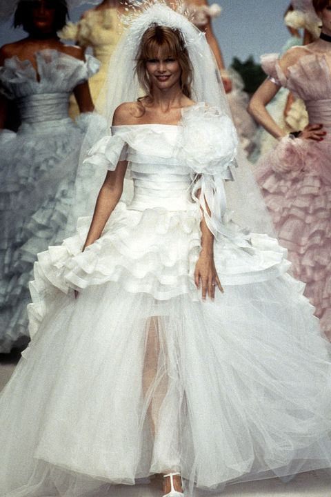 6008c0b865c The Most Popular Wedding Dresses the Year You Were Born