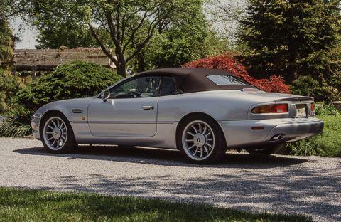 1996 aston martin db7 volante