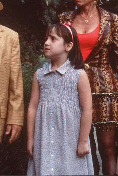 "young mara wilson in ""matilda"""