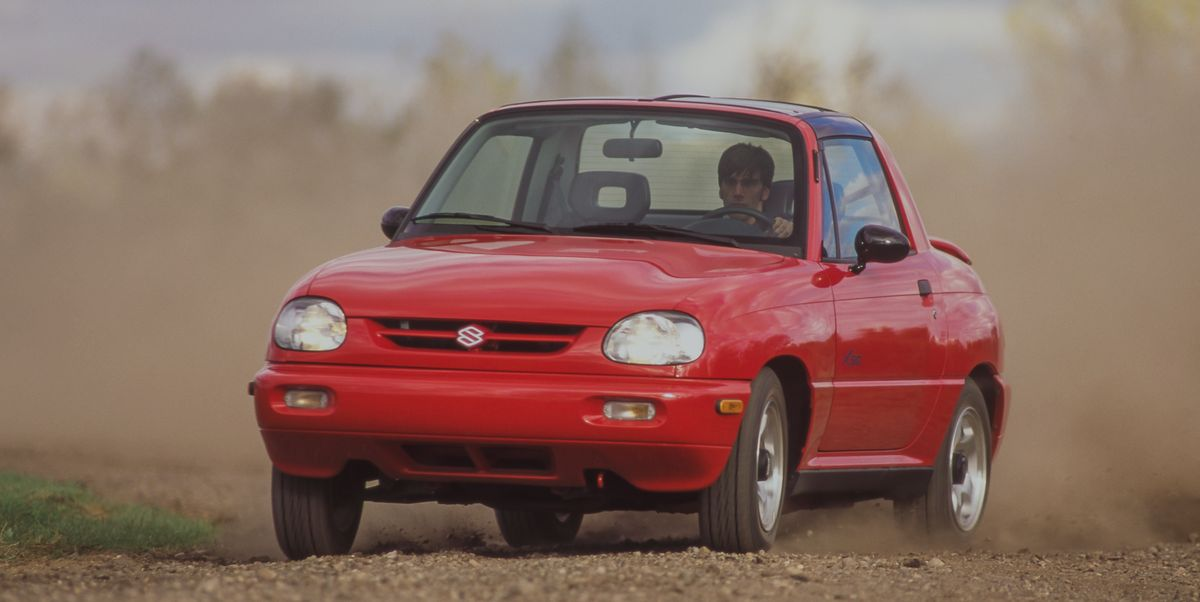 Tested: 1996 Suzuki X90 Tries to Launch a New Segment and Fails