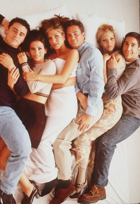 """1996 THE CAST OF THE TV HIT SERIES """"FRIENDS"""""""