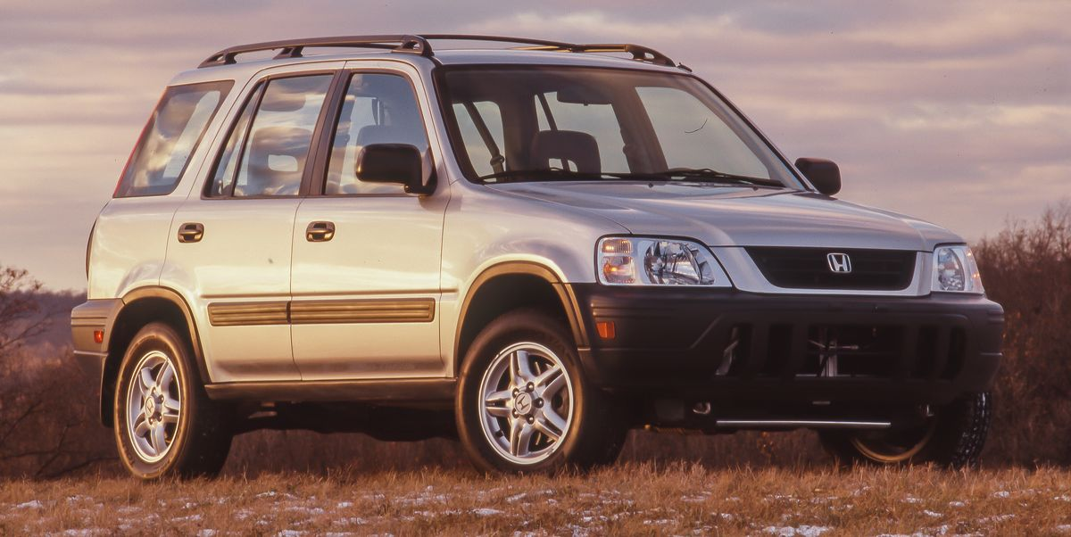 Tested: 1997 Honda CR-V Launches Honda into the SUV RaceCar and Driver