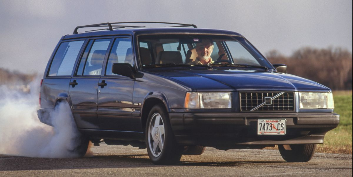 Tested: Old Volvo Wagons Are a V-8 Swap From Serious Speed