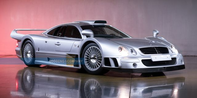 mercedes clk gtr offered by gooding