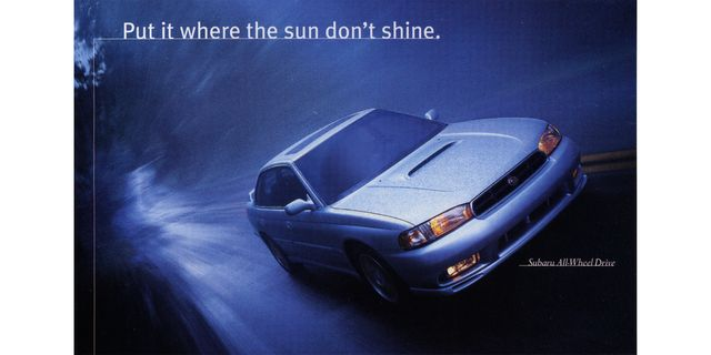 1998 subaru magazine advertisement