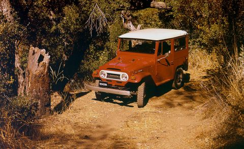 Vehicle, Car, Off-roading, Regularity rally, Motor vehicle, Off-road vehicle, Automotive exterior, Jeep, Tree, Hardtop,