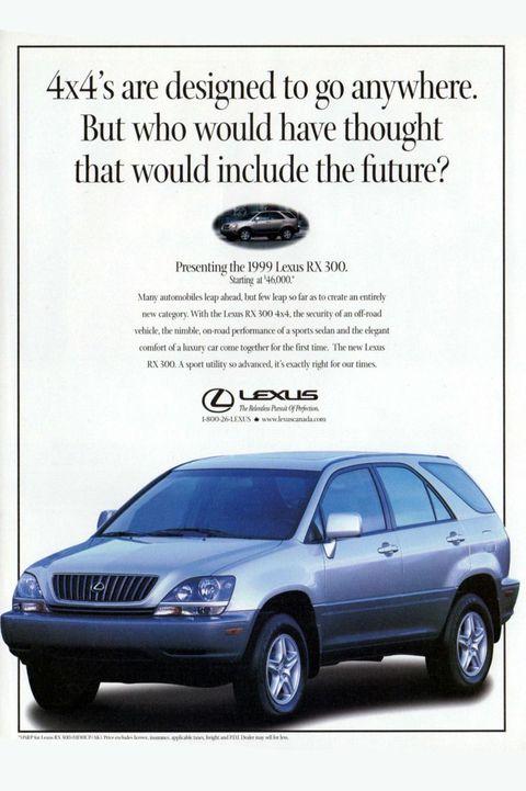 1999: Lexus RX300
