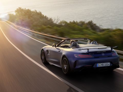 The 2020 Mercedes-AMG GT R Roadster Is Made for Top-Down Nurburgring Runs