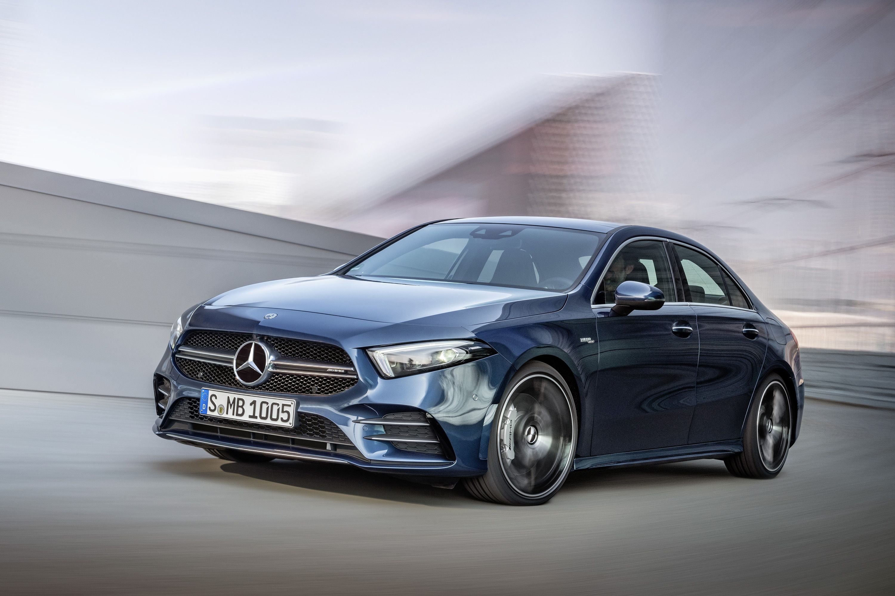 2020 Mercedes-AMG A35 Debuts as America's New Entry-Level AMG