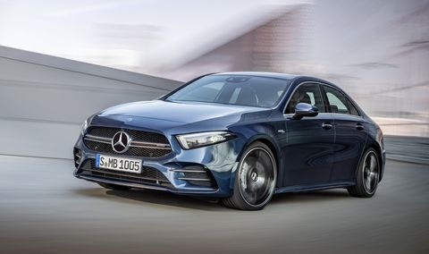 2020 Mercedes Amg A35 Debuts As America S New Entry Level Amg