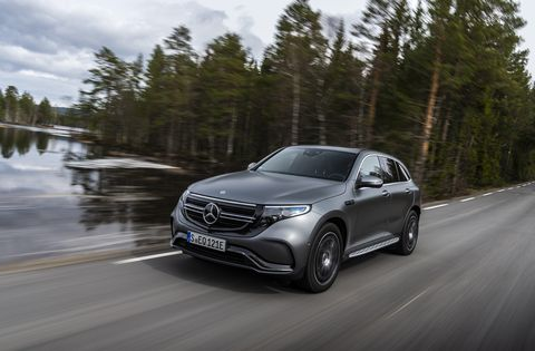 The Mercedes-Benz EQC Is Dead Silent