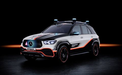 The Experimental Safety Vehicle (ESF) 2019