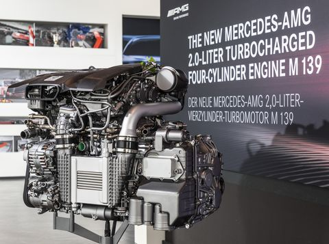 416-HP Mercedes-AMG Four-Cylinder Engine – Full Specs, Details