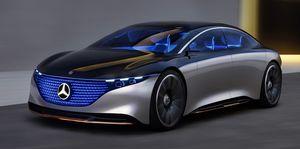 Mercedes-Benz,EQS,メルセレスベンツ,ベンツ,LED,Vision EQS,未来セダン,環境配慮,持続可能,再利用