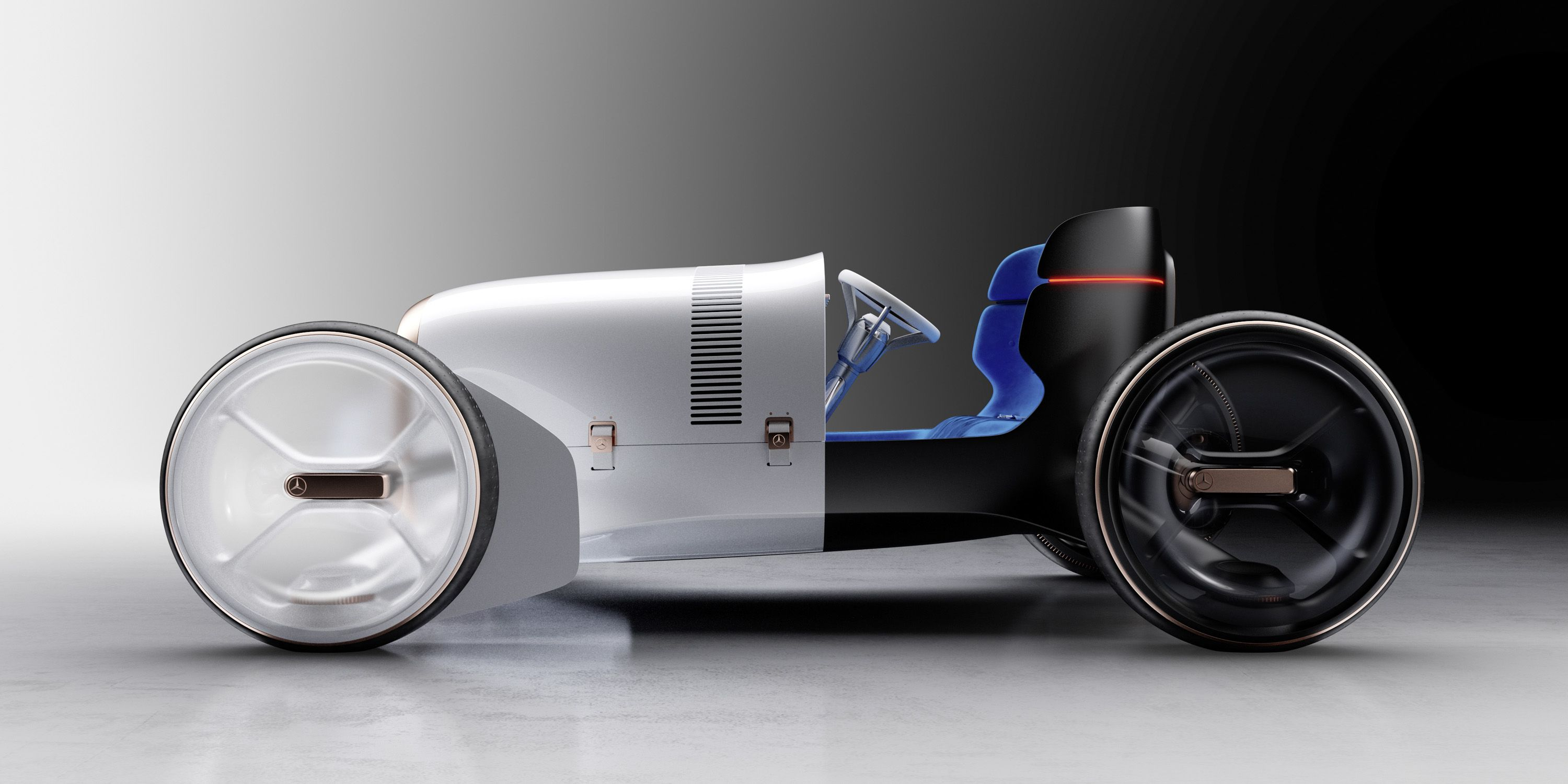 Mercedes-Benz's Latest Concept Is the Raddest EV Hot Rod You've Ever Seen