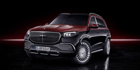 Mercedes-Maybach GLS600 Is the Brand's Chauffeur-Ready Top Model
